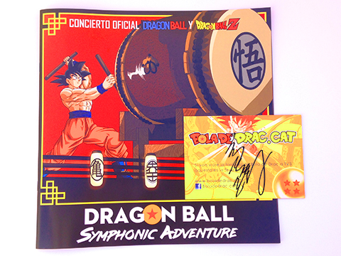 Dragon Ball Symphonic Adventure Barcelona 2019