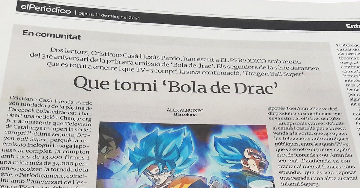 El Periódico entrevista a Boladedrac.cat