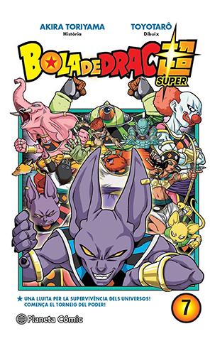 Manga de Bola de Drac Super tom 7