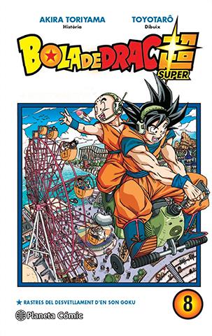 Manga de Bola de Drac Super i tom 8
