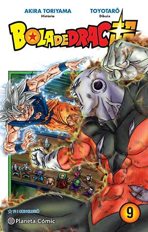 Manga de Bola de Drac Super i tom 9