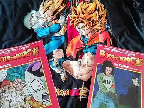 Manga de Bola de Drac Super nº 242, 243 i tom 6