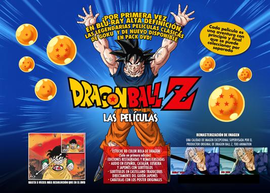Nous DVDs de Bola de Drac Z