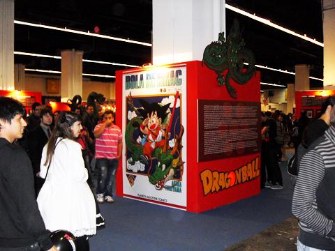 Exposició de Bola de Drac al Saló del Manga